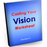 Casting Your Vision Worksheet cover